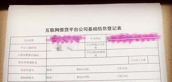 深圳开放P2P公司注册登记